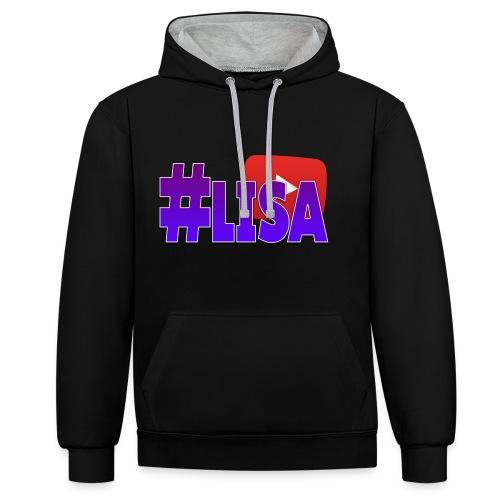 MERCHANDISE LISA - Contrast hoodie