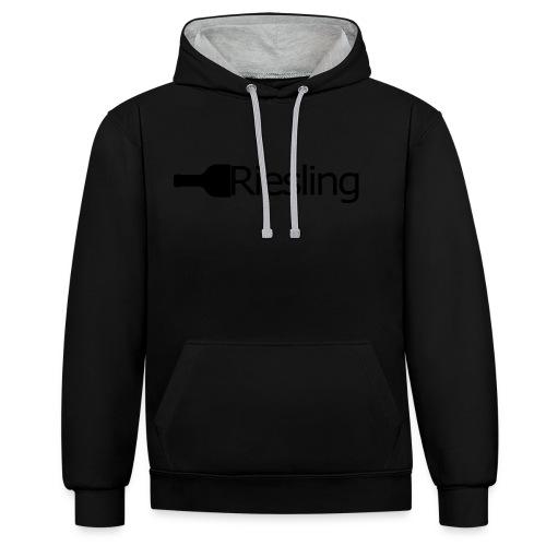 Riesling - Kontrast-Hoodie
