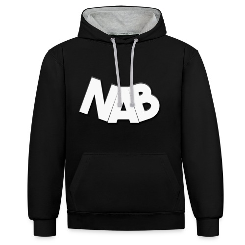 NAB.png - Kontrast-Hoodie