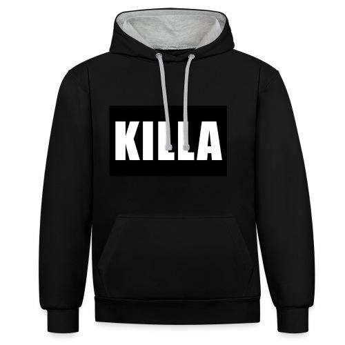 KILLA - Kontrast-Hoodie