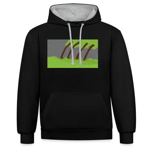 Storm in the Wind - Contrast hoodie