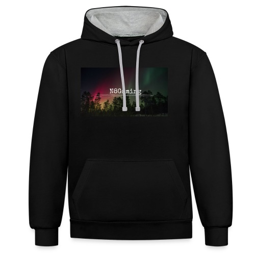 N8 Gaming Shirt - Contrast Colour Hoodie