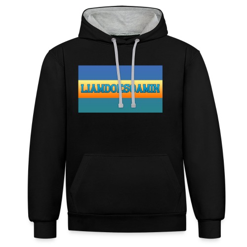 LiamDoesGamin - Contrast Colour Hoodie