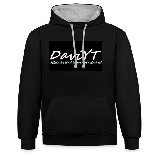 DaviYT Merch - Kontrast-Hoodie