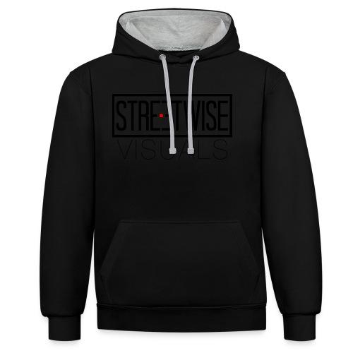 Streetwise Visuals   LONGFIT - Contrast hoodie