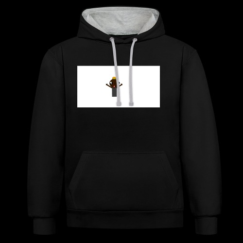 icon - Contrast Colour Hoodie