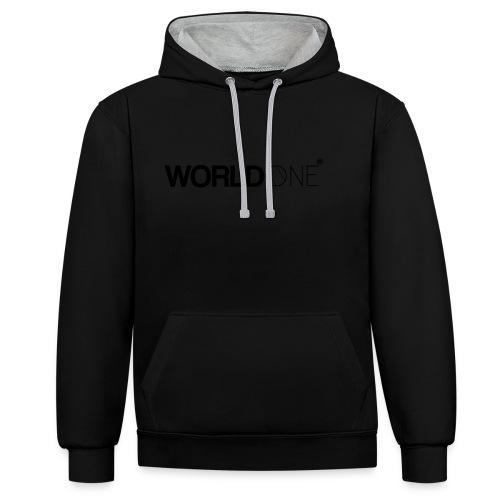 WorldØne© - Sweat-shirt contraste
