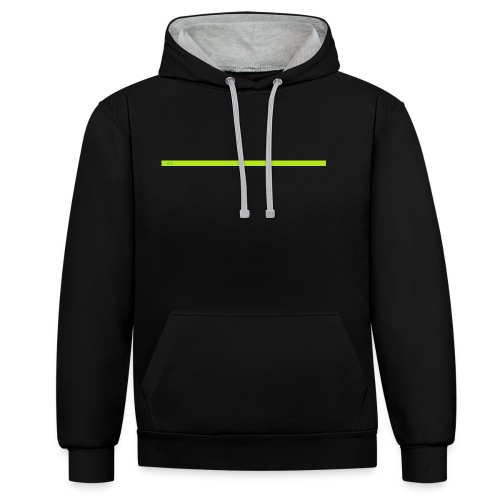 AFK for when you are away from keyboard - Contrast Colour Hoodie