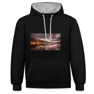 DjZ - Contrast hoodie