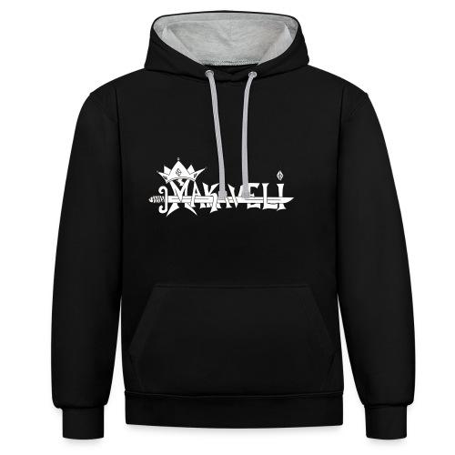 MAKAVELI - Sweat-shirt contraste
