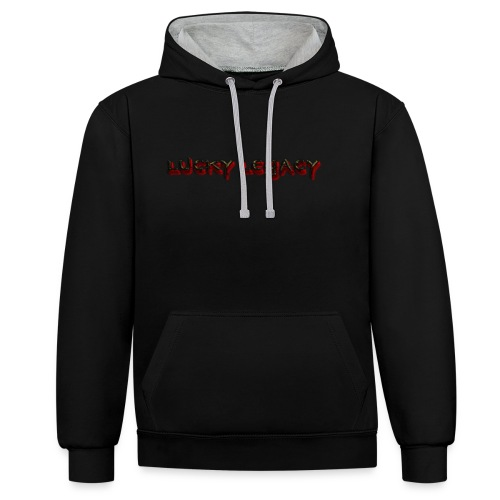 the 1st merch - Contrast Colour Hoodie