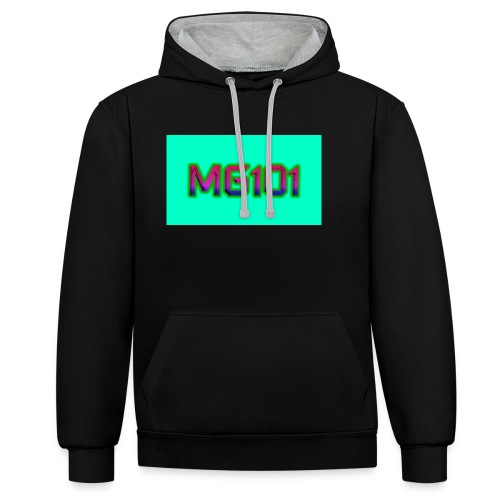 MG101 Designs - Contrast Colour Hoodie