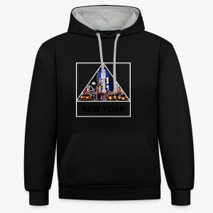 Triangle sur New York - Sweat-shirt contraste