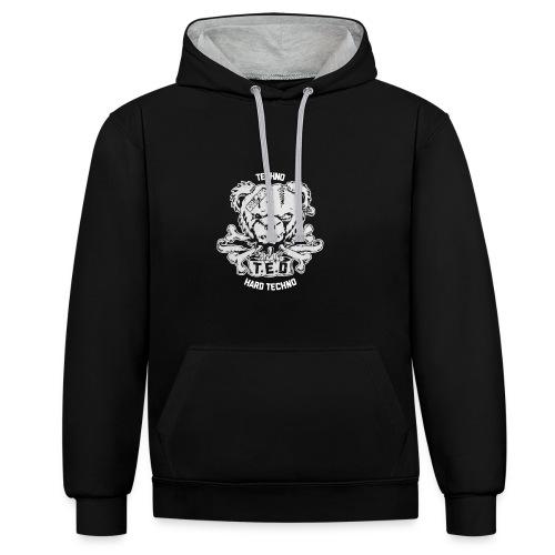 T.E.D's Official Merchandise Shop - Kontrast-Hoodie