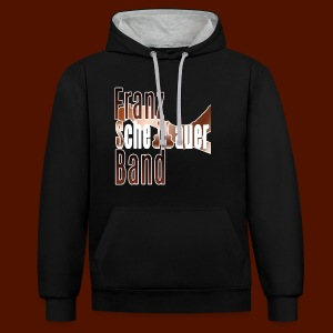 FSB logo brown - Contrast Colour Hoodie