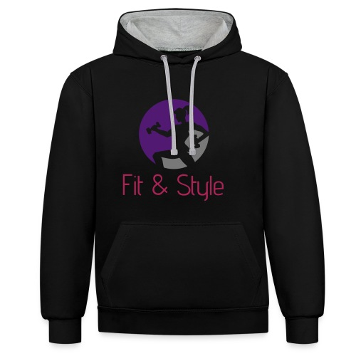 Fit & Style shirt - Contrast hoodie