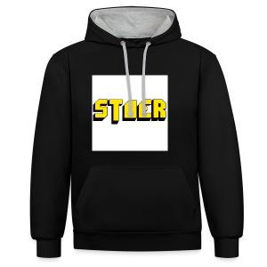 stoer shirt - Contrast hoodie