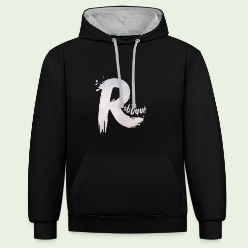 T-Shirt Robbuuh (M) - Contrast hoodie