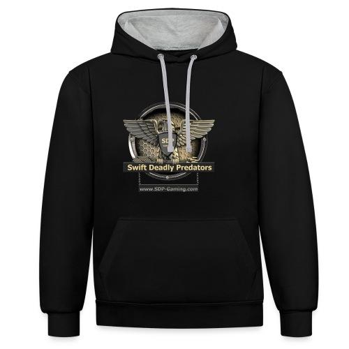 SDP-Gaming.com - Recruiter Shirts - Contrast hoodie