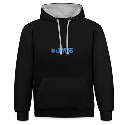 JustMTGames T-Shirt - Contrast hoodie