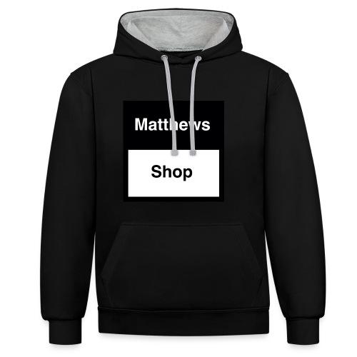 Matthews Shop T-shirt - Contrast hoodie