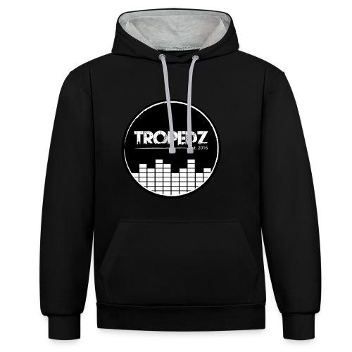 Tropedz-music - Kontrast-Hoodie