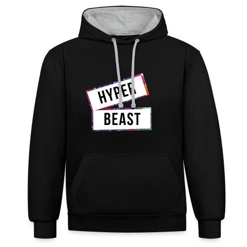 Hyperbeast Design - Contrast Colour Hoodie