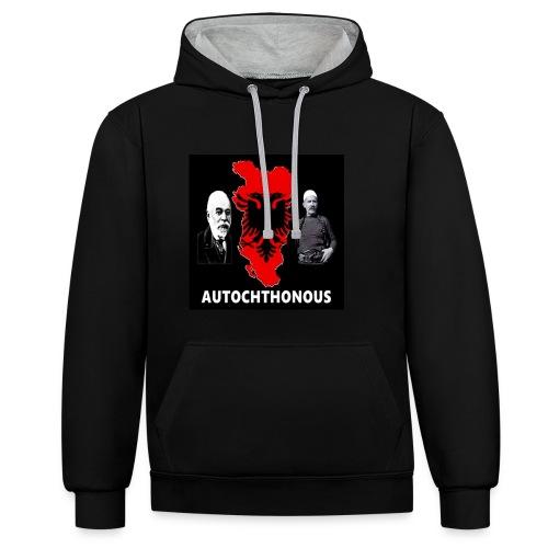 Autchthonous - Kontrast-Hoodie