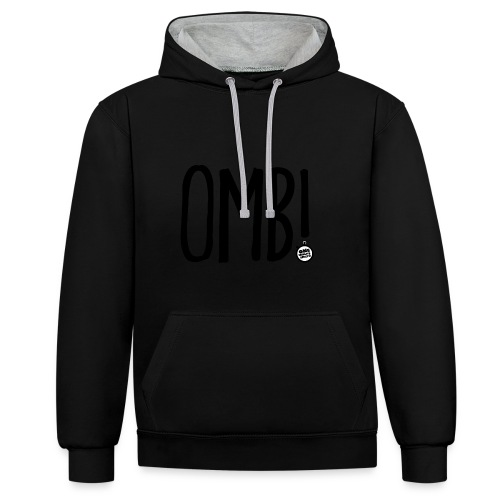 OMB LOGO - Contrast Colour Hoodie