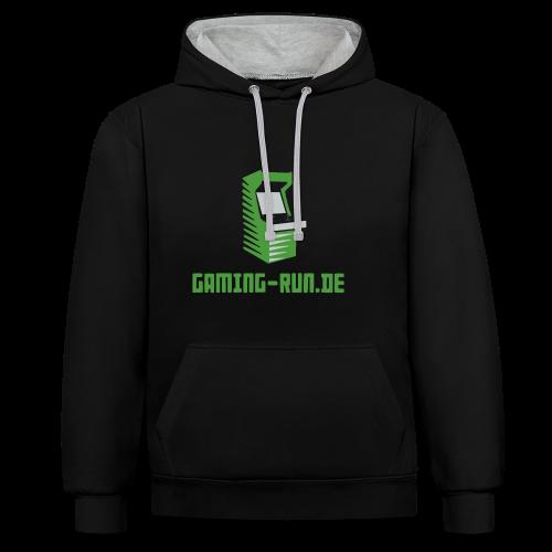 Gaming-Run.de - Kontrast-Hoodie