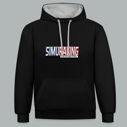 logo Simuracing - Sweat-shirt contraste
