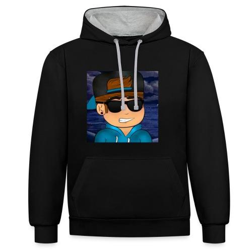 GameDeur Merch - Contrast hoodie
