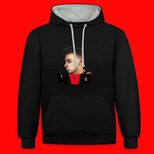 WVO OFFICIAL - Contrast Colour Hoodie