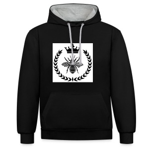 Be Rich T-shirt - Contrast hoodie