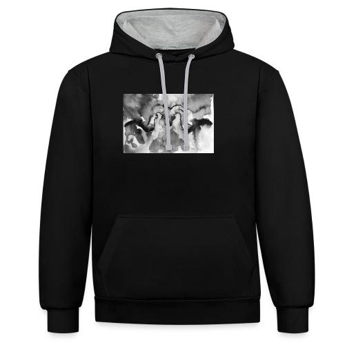 Animal spirit - Sudadera con capucha en contraste