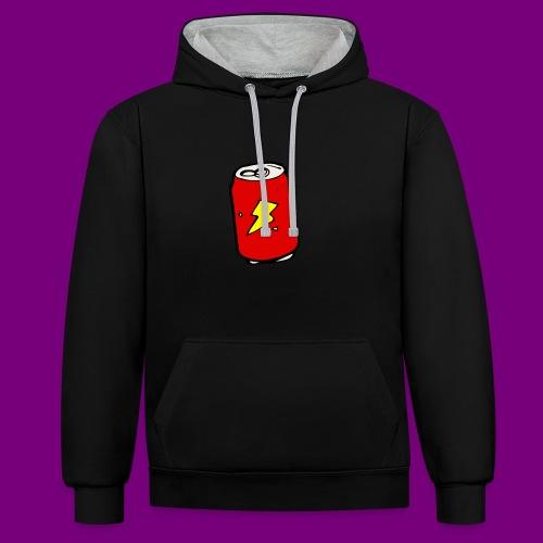 Cola Design - Contrast Colour Hoodie