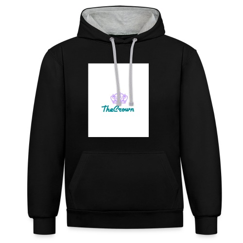 thecrown - Contrast Colour Hoodie