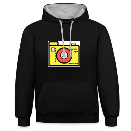 T-shirt DutchTraps - Contrast hoodie