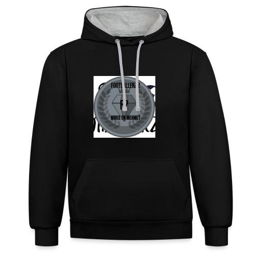 F2FOOTBALLERZ Z youtube kanaal T shirt - Contrast hoodie