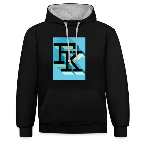 FK - Sweat-shirt contraste
