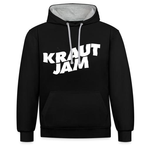 Original KrautJam'16 - Kontrast-Hoodie