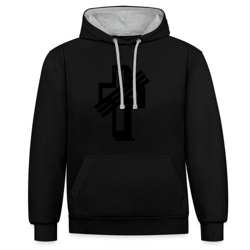 YOU-Design T-Shirt - Contrast Colour Hoodie