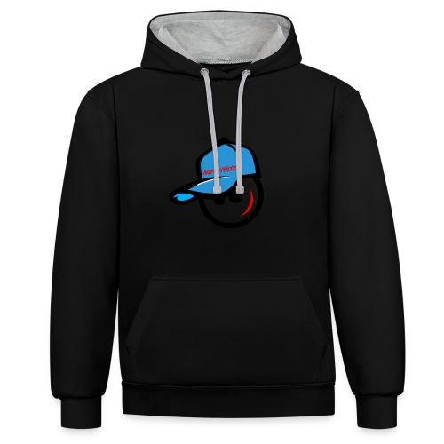 NewKidz Logo - Kontrast-Hoodie
