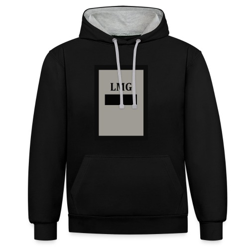 LAMOND- G collection no.7 Divide - Contrast Colour Hoodie