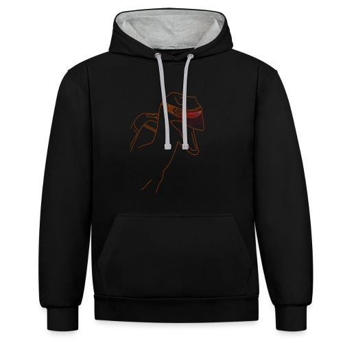 Raptor Shirt - Contrast hoodie