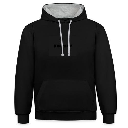 KacperW Merchandise - Contrast hoodie