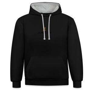 jumpcity - Contrast hoodie