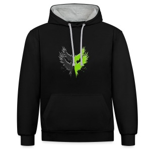 Project Icarus Logo - Contrast hoodie
