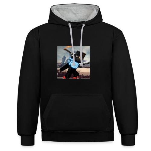 Pixel Kollektion #1 - Kontrast-Hoodie