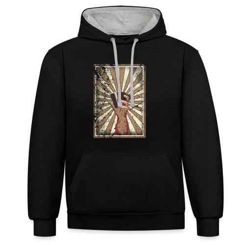 Coffee revolution! - Contrast hoodie